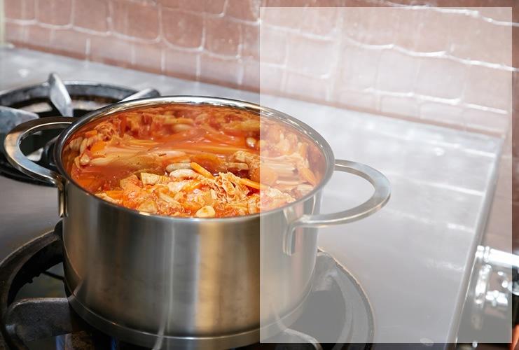 ステンレス鍋
