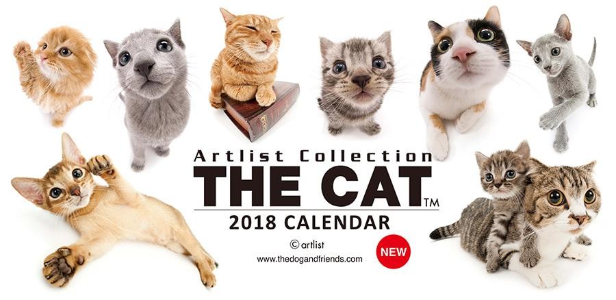 THE CAT 2018 CALENDAR