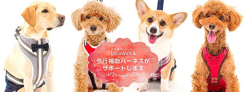 LaLaWalk ララウォーク 歩行補助ハーネス(中型犬・コーギー用)