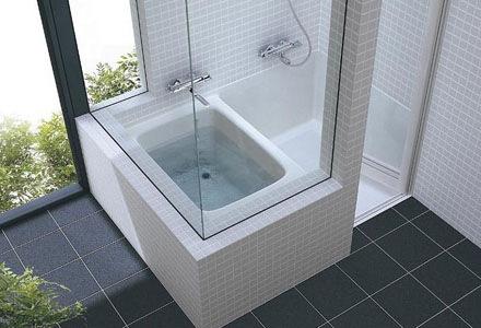 TOTO - 洗い場付き浴槽・ハーフバス