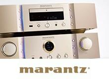 marantzブランドページ