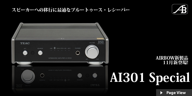AI301 Special 発売