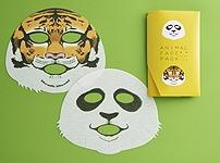 上野動物園協力 動物フェイスパック