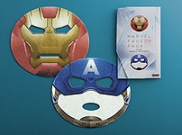 Le masque de Marvel Comics (Iron Man et Captain America)