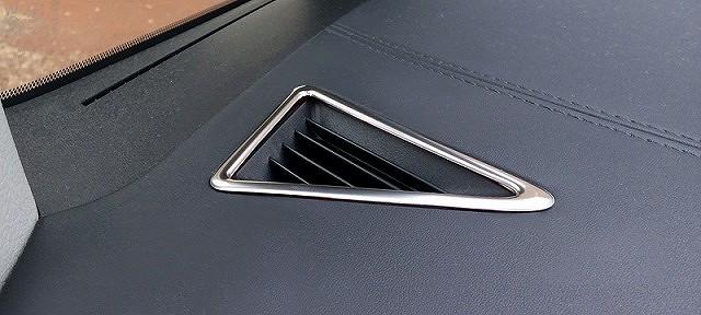 アルファード 30系 ヴェルファイア 30系 全グレード対応 トヨタ 3D立体 デフォッガーベゼルカバー 2P ステンレス鏡面仕上げ7