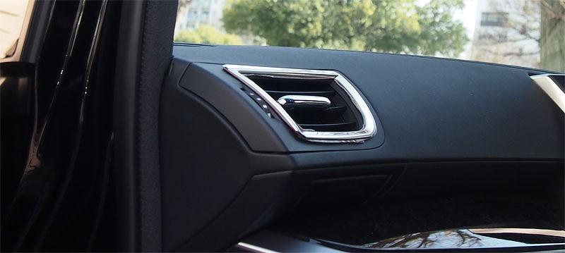 アルファード 30系 ヴェルファイア 30系 全グレード対応 トヨタ フロント エアコン 吹き出し口 3D立体 インテリアパネル1