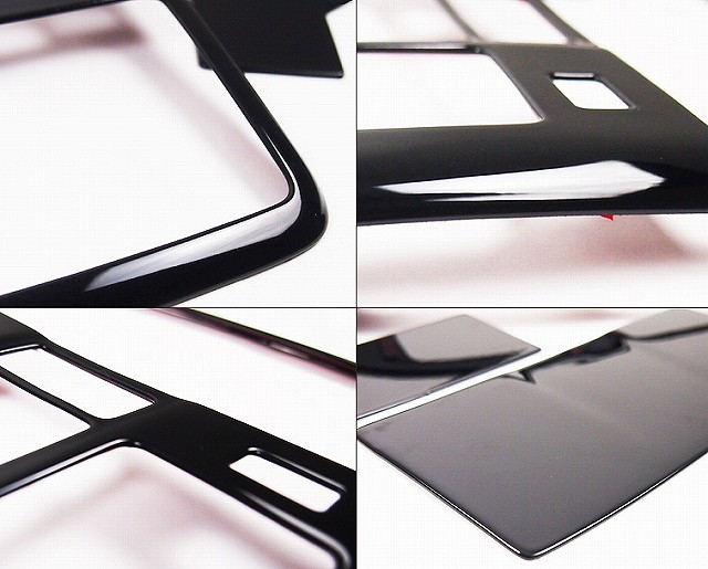 アクセラ BM/BY系 マツダ 3D立体 オーバーヘッドコンソールパネル インテリアパネル 3P ピアノブラック仕上げ