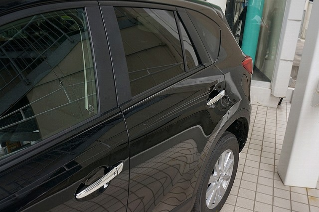 CX-5 KE系 マツダ サイドドア ガーニッシュ & サイド ドアノブ カバー メッキ 鏡面仕上げ 外装2点セット