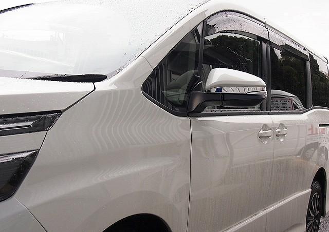 ノア ヴォクシー ZRR80G/ZRR80W/ZWR80G 80系 トヨタ ドアミラー/サイドミラー アンダー部分 ミラーガーニッシュ 2p 鏡面仕上げ