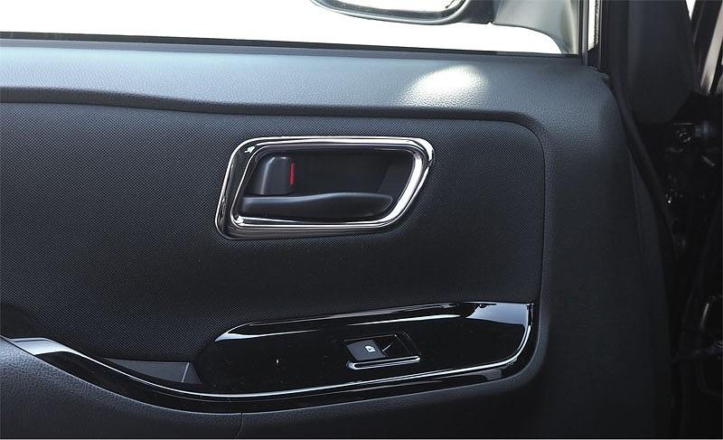 ノア ヴォクシー 80系 トヨタ フロント サイドドア インテリアパネル 2P 鏡面メッキ仕上