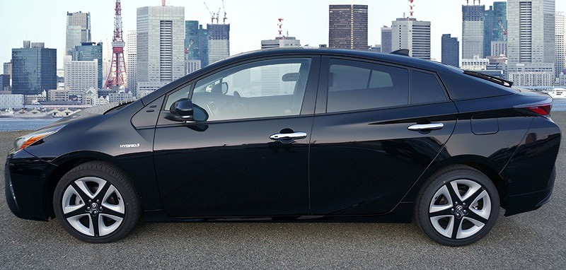 新型 プリウス 50系 ドアノブカバー ドアハンドル ガーニッシュ 4P フロント リア メッキ仕上 全グレード対応