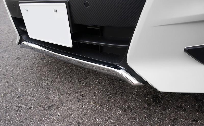 新型 セレナ C27 ハイウェイスター系 フロント リップ スポイラー ガーニッシュ メッキ仕上げ 1P