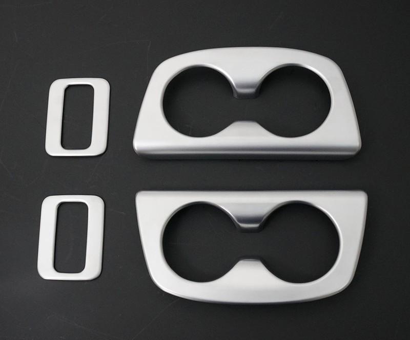 新型 セレナ C27 共通 ドリンクホルダー サテンシルバー 左右セット2P & リアスイッチ サテンシルバー 2P 内装インテリアパネル2点セット/セット割