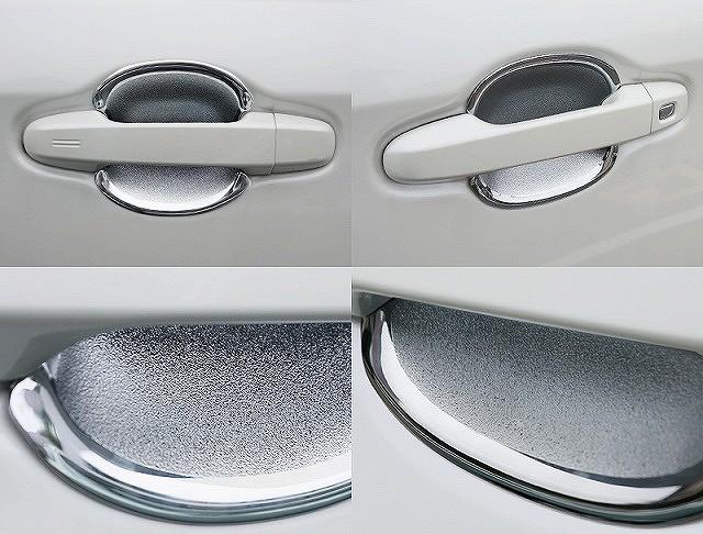 シエンタ 170系 ドア プロテクション カバー メッキ仕上