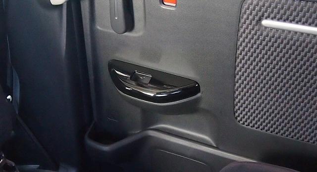 ステップワゴン フロント/リア スウィッチ周り 内装パネル 4P ピアノブラック仕上げ