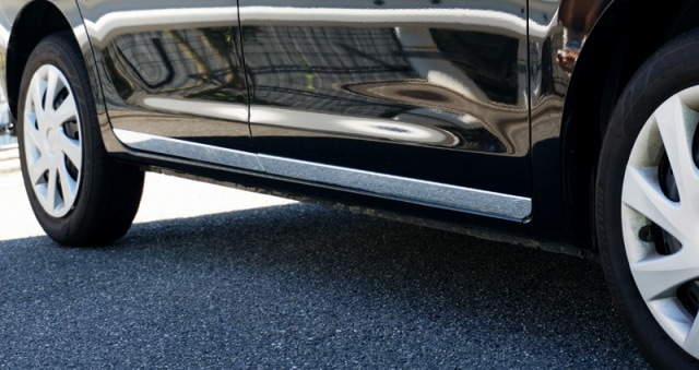 タント タントカスタム LA600S LA610S ダイハツ サイドドア ガーニッシュ 4P 鏡面メッキ仕上げ