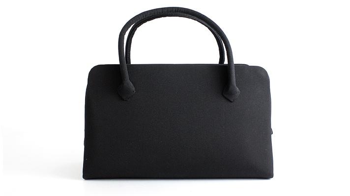 葵バッグ「黒地」(法事用・弔事用・礼装用)和装バッグ