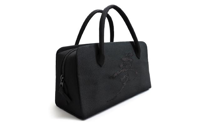 葵バッグ「黒地・夢」(法事用・弔事用・礼装用)和装バッグ