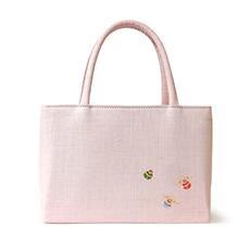 夏の雅バッグ「小鈴」 ピンク 背面