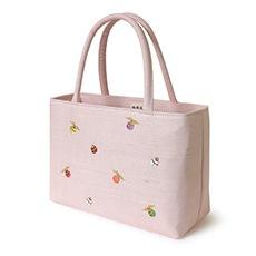 夏の雅バッグ「小鈴」 A. ピンク