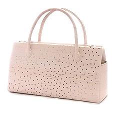 夏のふたばバッグ「ラインストーン」 A. ピンク