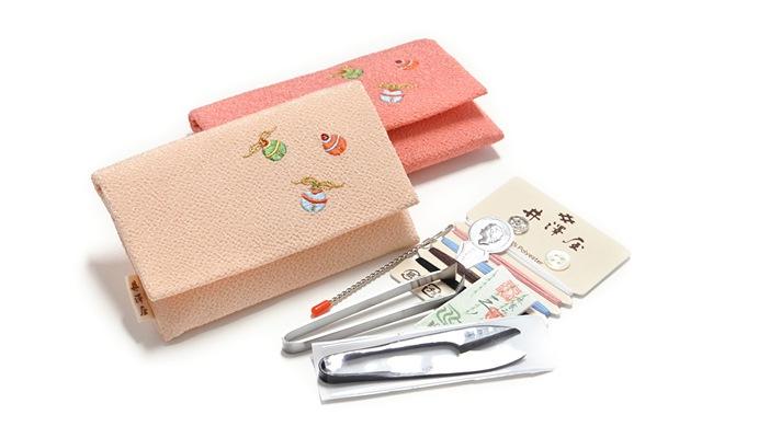 ちりめん刺繍ソーイングセット「小鈴」新仕様 裁縫セット 井澤屋