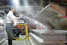 京和晒綿紗 製造工程