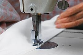 京和晒綿紗 縫製