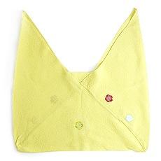 正絹三角袋「りんりん」 C. ライムグリーン
