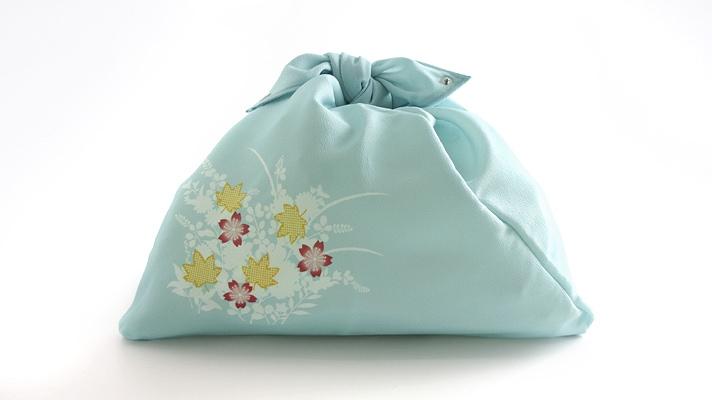 三角袋「桜楓文様」