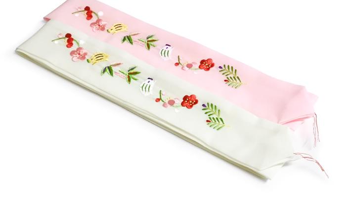 干支の刺繍こしひも「亥(いのしし)」