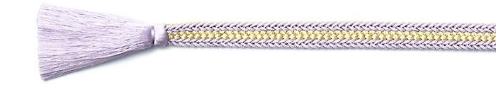 夏の帯締め(帯〆) 誉レースラメ入袴房  B. 紫