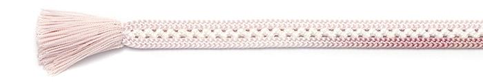 夏の帯締め(帯〆) 小桜合せレース色ぼかし撚房  A. ピンク