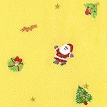 帯揚げ クリスマス・チャーム G. 黄色