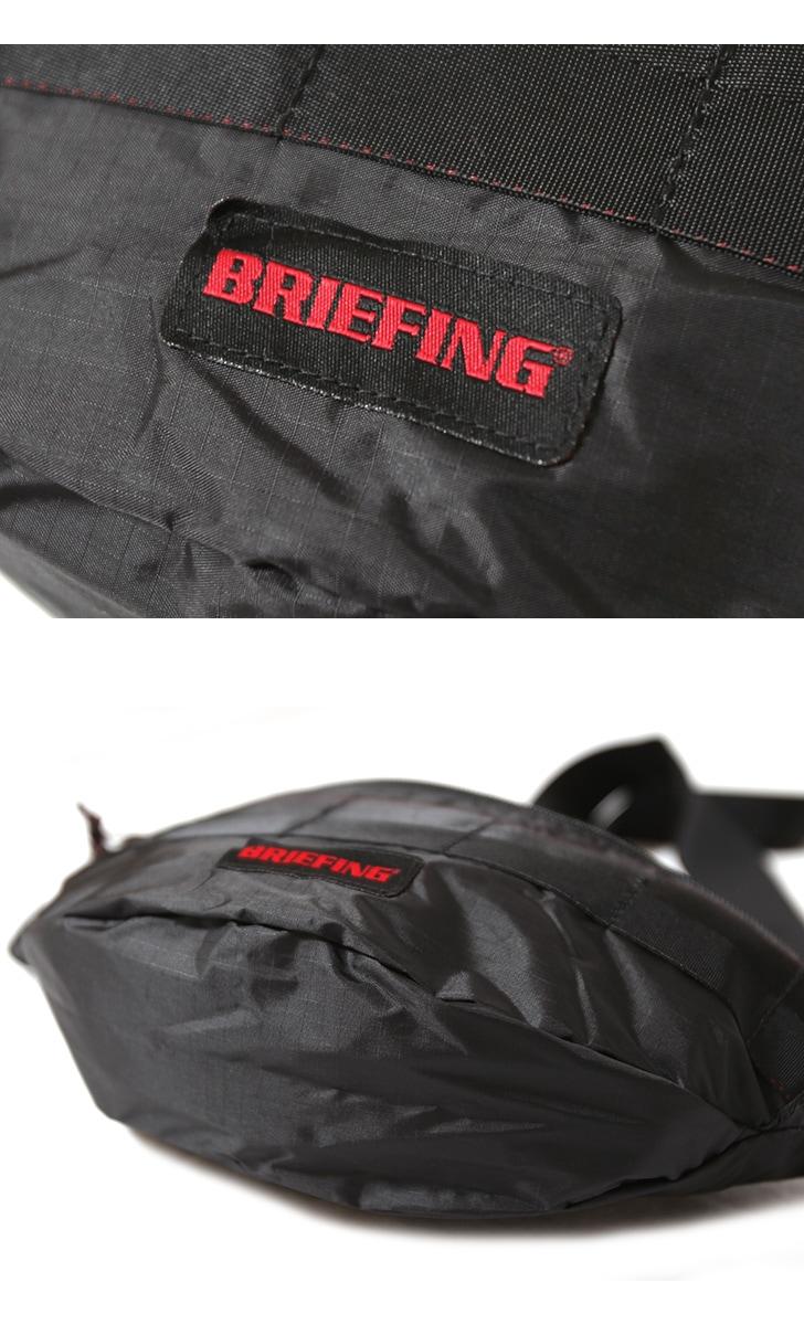 BRIEFING ブリーフィング MINI POD SL PACKABLE ミニポッド SL パッカブル ウエストバッグ BRM181204