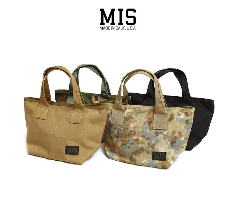 MIS MINI TOTE BAG 7L エムアイエス ミニトートバッグ MIS-1007