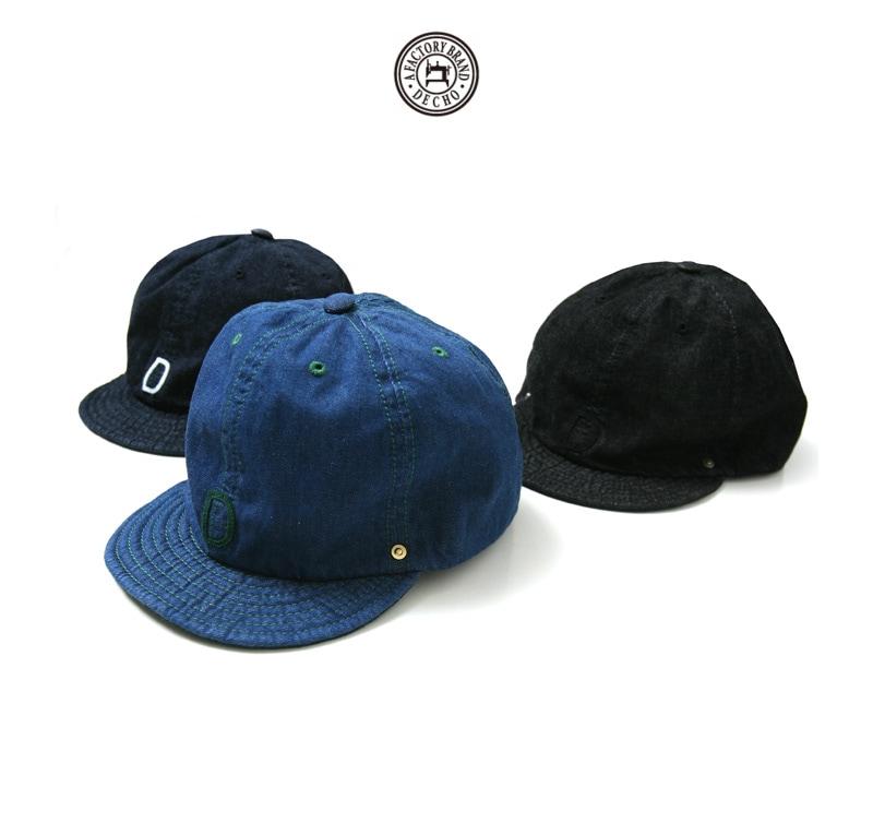 DECHO デコー ボールキャップ デニム 帽子 2-1SD18