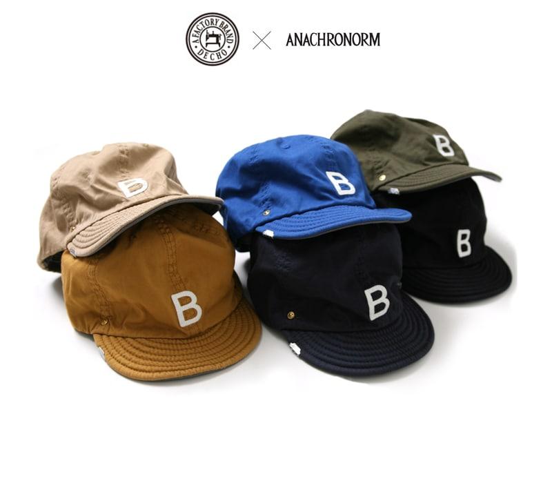 DECHO×アナクロノーム ベースボールキャップ BEAT INITIAL CAPS デコー Anachronorm ANDC-035