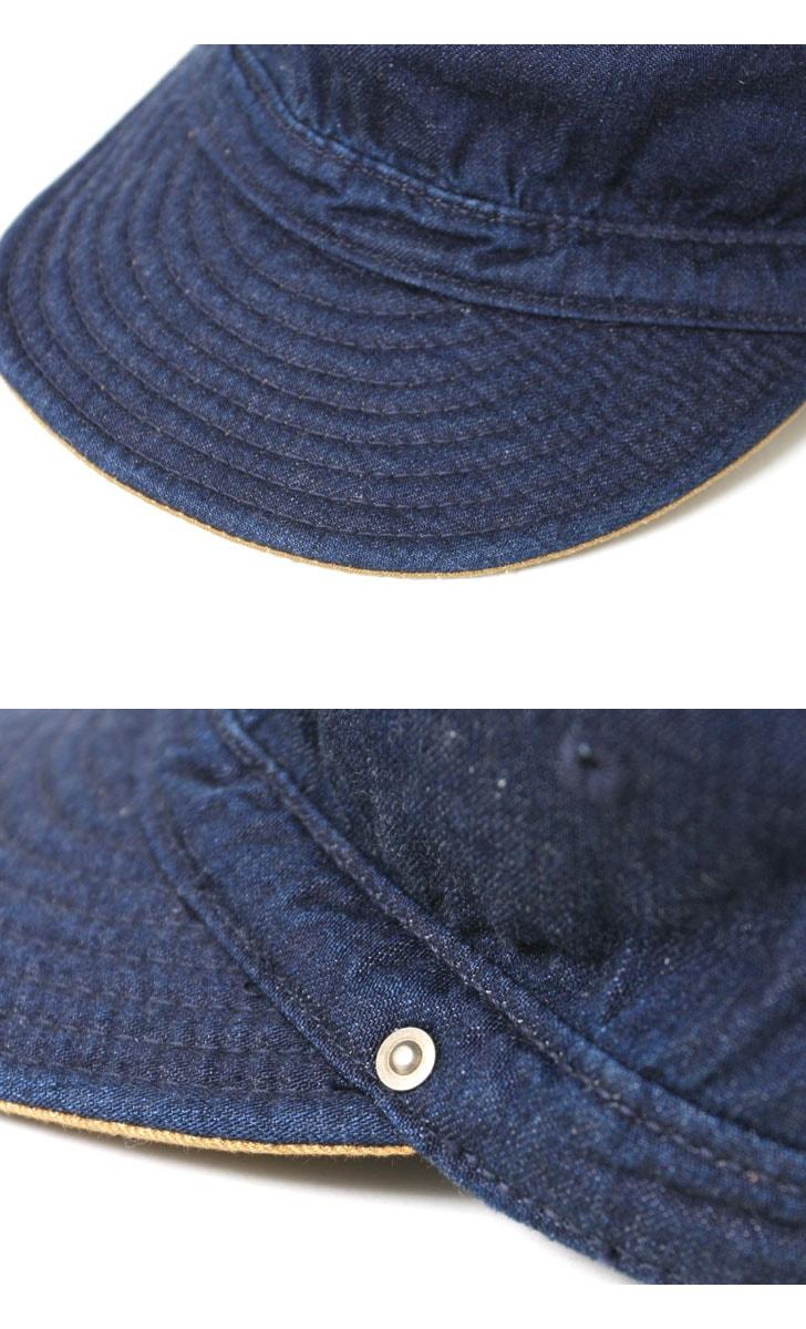 DECHO デコー サービスキャップ D-03 SERVICE CAP D-3 帽子 ワークキャップ
