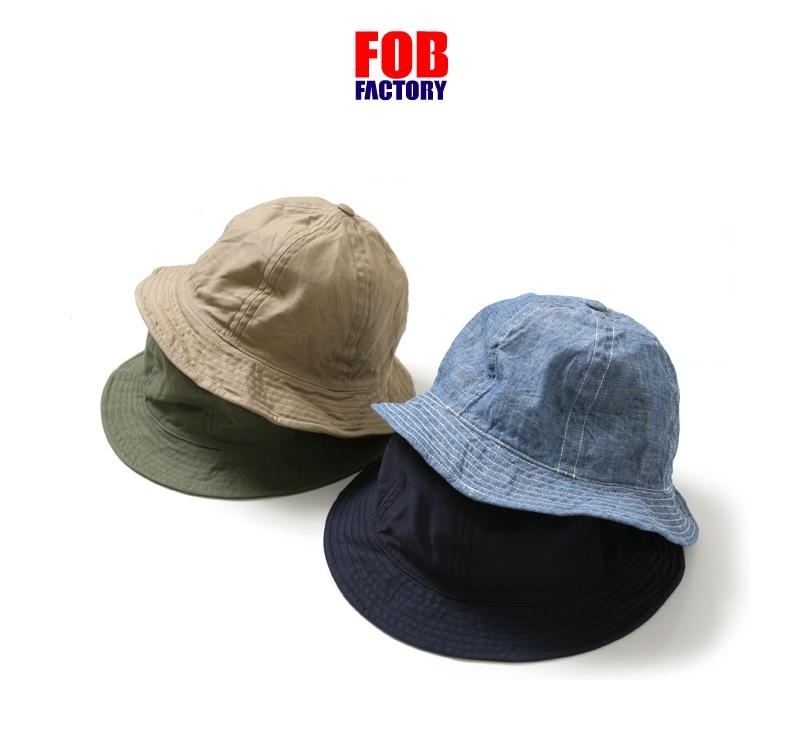 FOB FACTORY RAILMAN HAT レイルマンハット FOBファクトリー F910 F919