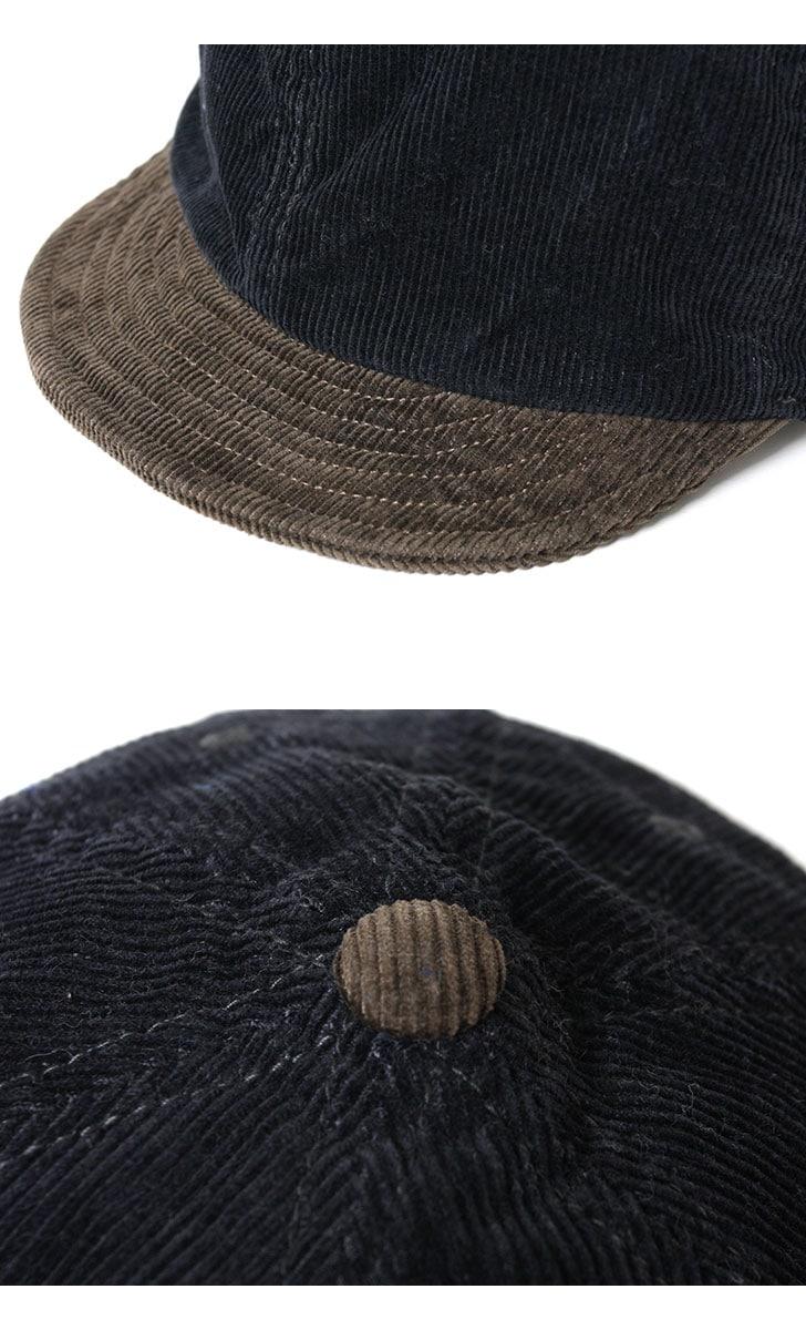 FOB FACTORY CORDUROY BAKER CAP コーデュロイベイカーキャップ FOBファクトリー F916