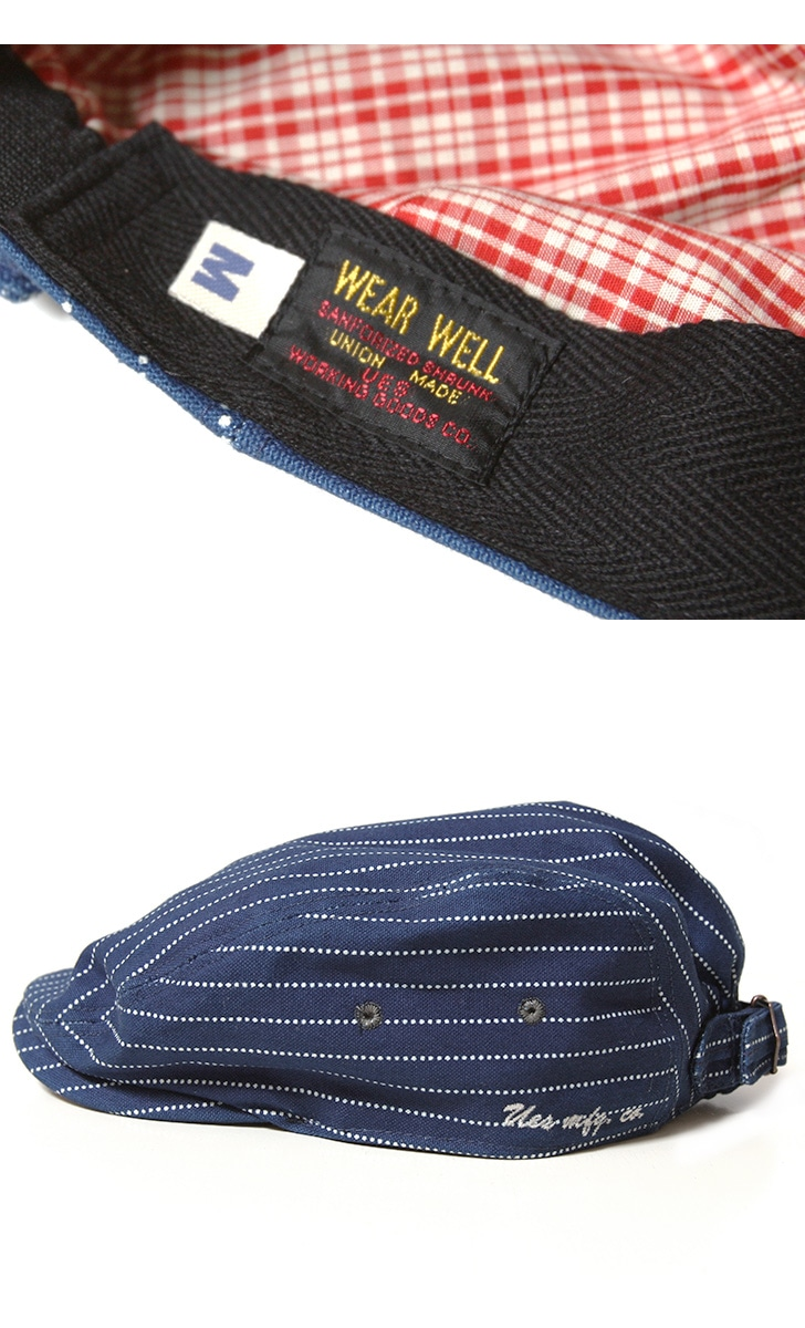 UES ウエス デニムキャップ 82DC ベースボールキャップ 帽子