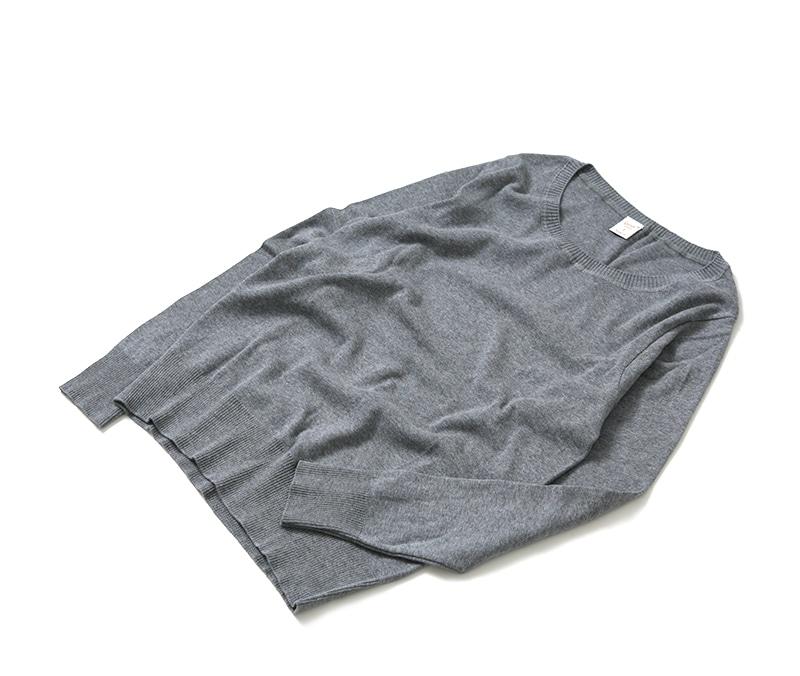 レディース ジチピ Gicipi コットンクルーネックセーター