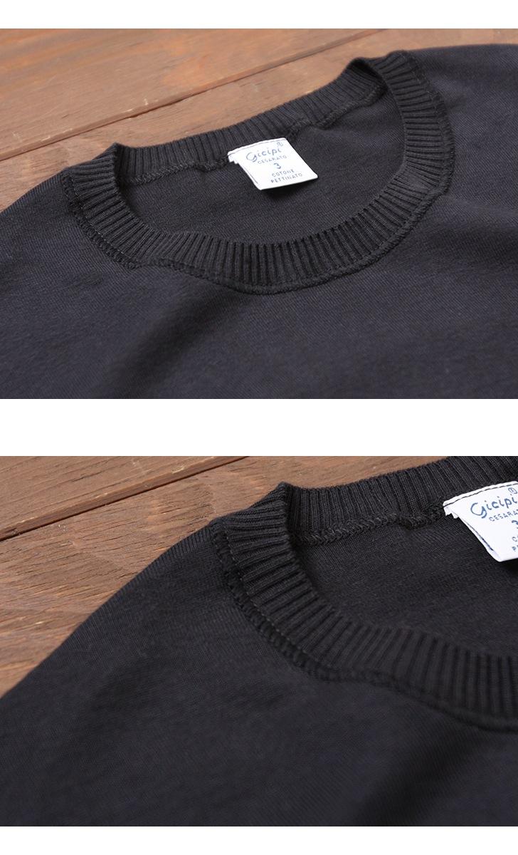 ジチピ Gicipi コットンタートルネックセーター メンズ