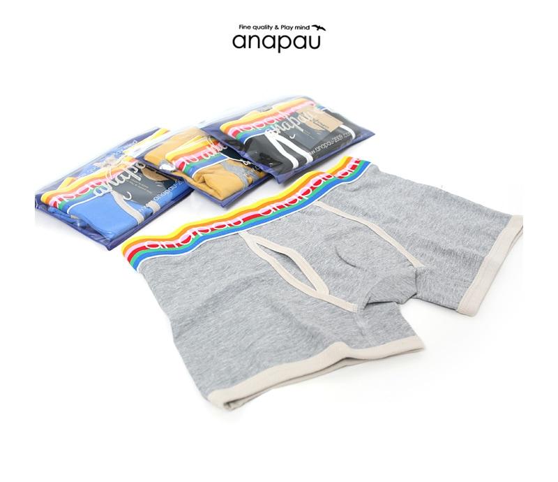 anapau アナパウ ボクサーパンツ 1911 [無地]