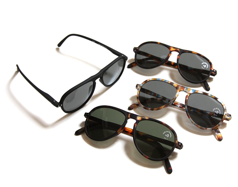 IZIPIZI イジピジ see concept シーコンセプト メガネ 眼鏡 老眼鏡 サングラス #I SUN グレーレンズ グリーンレンズ ティアドロップ