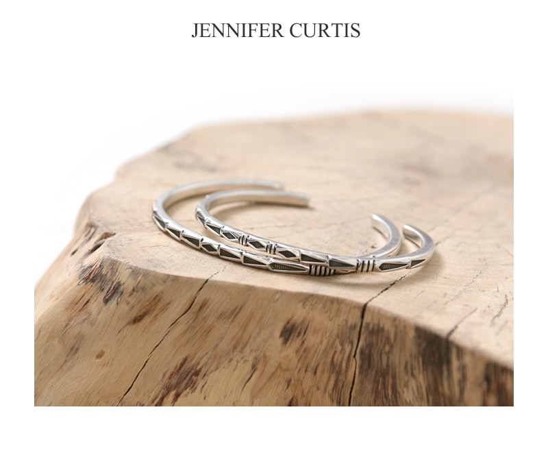 JENNIFER CURTIS ジェニファーカーティス #8 スクエア ワイヤー バングル ナバホ インディアンジュエリー
