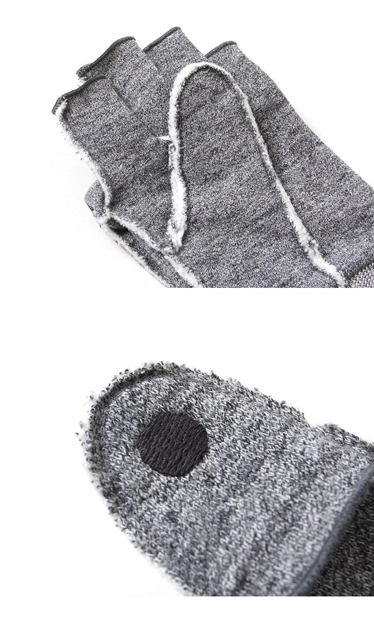 Kepani ケパニ Saguaro-POP カットフミトン 手袋 グローブ スウェット KP5018MP 【レディース&メンズ】