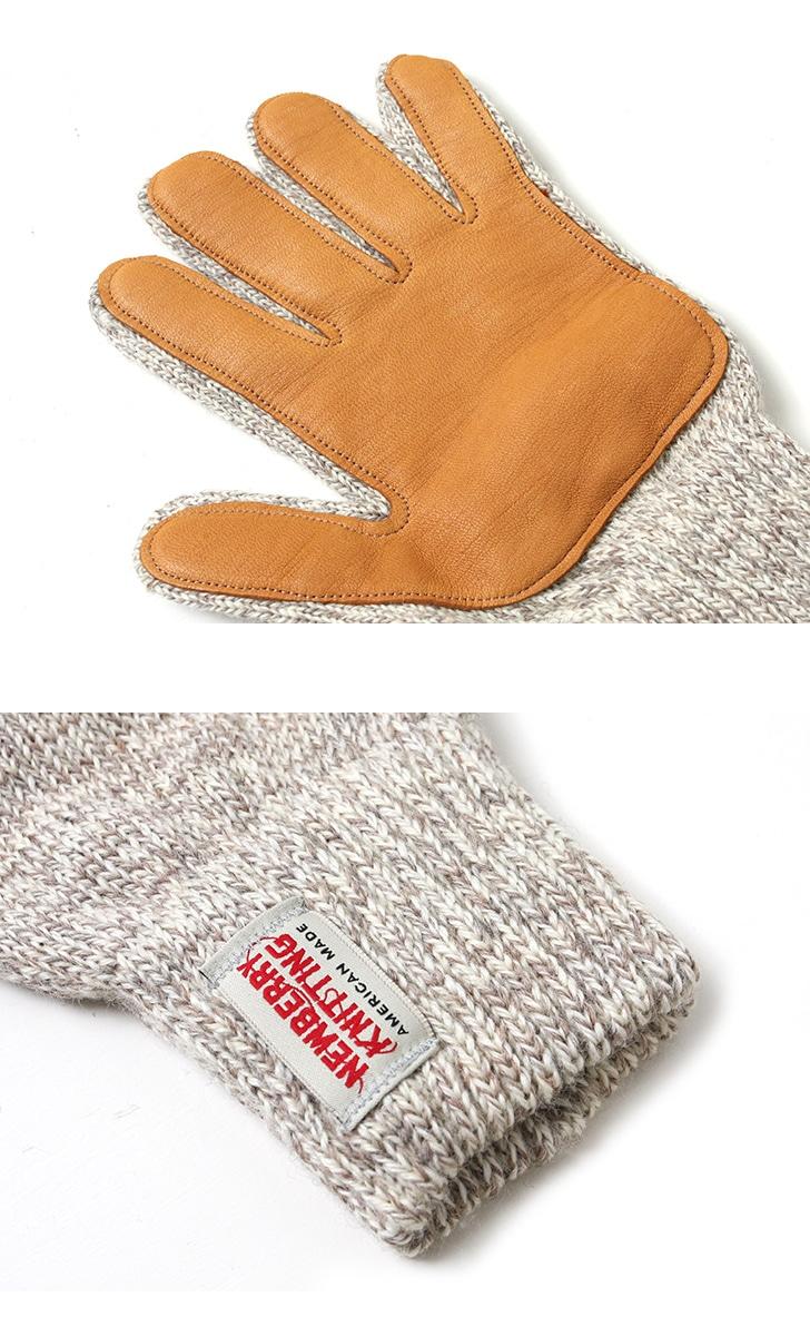 ニューベリーニッティング 手袋 ラグウールディアスキングローブ NEWBERRY KNITTING #G レディース メンズ