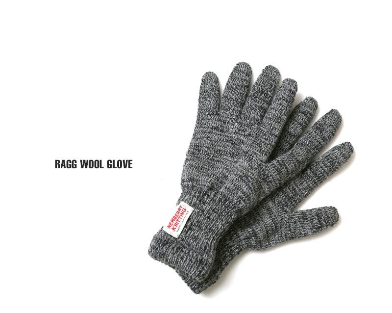 ニューベリーニッティング 手袋 ラグウールグローブ NEWBERRY KNITTING M332P レディース メンズ